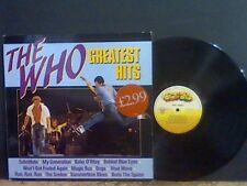 THE WHO  Greatest Hits   LP  Dutch compliation   Lovely copy !