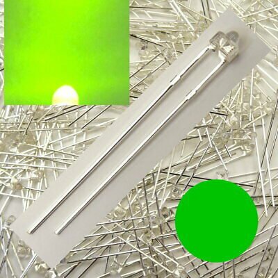 Led 1,8mm Verde Chiaro Numero Di Pezzi Selezionabile Da 1/10/25/50 Pezzi C5031-