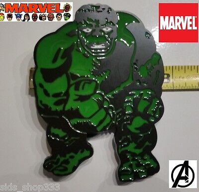 Marvel Comics HULK SMASH BELT BUCKLE Collectible Avengers Cosplay