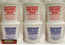 M02054x3 MOREZMORE 15 lb BROWN Magic Sculpt Sculp Epoxy Clay Model Putty T20A