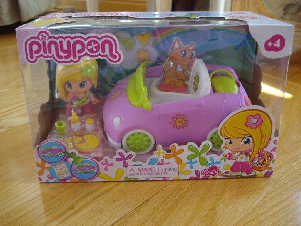 Pinypon Congreenible Car Playset Playset Playset PURPLE CAR 0fb7c2