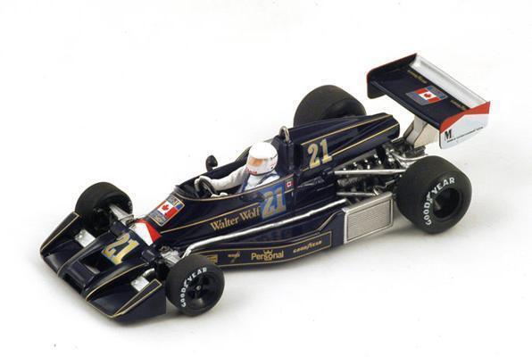 Williams FW05  21 W.marron  GP US  1976 (Spark 1 43   S4047)