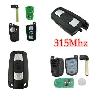 Details about 315Mhz Smart Remote Control Car Key Fob Replacement Fit For  BMW 1 3 5 6 7 Series