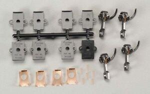 "Kadee HO Scale # 118 ~  /""SE/"" Shelf Metal Medium Whisker Couplers ~ 2 Pair"