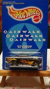 Hot-Wheels-AAirwalk-039-57-Chevy-Limited-Edition-9995