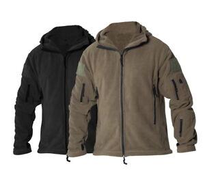 Army Veste L Gr Us Noir S M Fleece Xl Capuche Recon Jacket Veste Xxl 2xl Olive rprw0fq