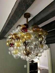 Custom-Bubble-Glass-Chandelier-by-Nessing-Design-New-York-City
