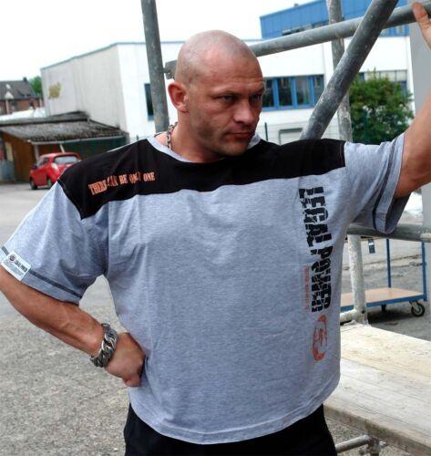 Legal power rag-top manches courtes shirt deux tons haute qualité Coton Avec Lycra