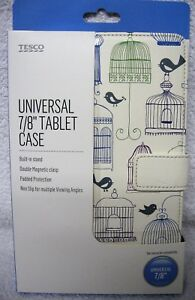 Tablet-Case-Bird-Cage-Double-Magnetic-Clasp-Built-in-Stand-7-8-034-Universal