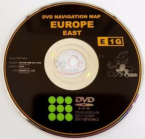 Toyota-Lexus-ORIGINAL-Navigation-DVD-E1G-2018-East-Europe-Ost-Europa-Update-Map