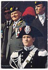 Cartolina Carabinieri, vecchie e nuove leve, arti grafiche Alinari Baglioni