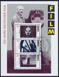 Bund-Block-33-FDC-SStpl-100-Jahre-deutscher-Film