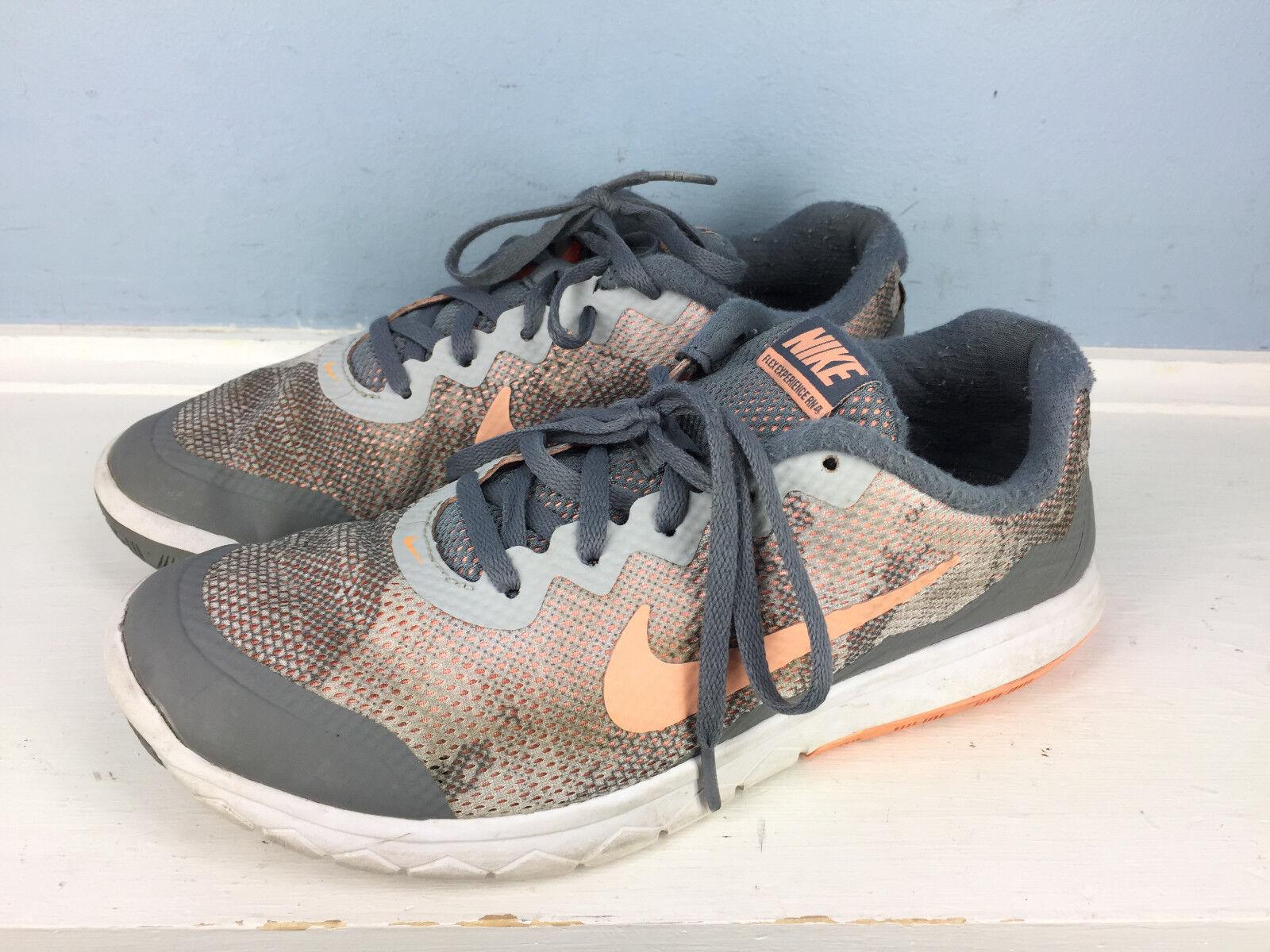 sale retailer f7e00 76f89 Nike Flex Experience RN RN RN 4 Womens 8 Gray Peach light weight running  cross train