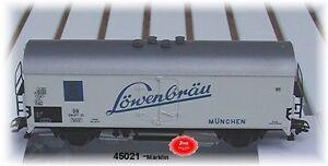 Marklin-45021-Wagon-Biere-Lowenbrau-neuf-emballage-d-039-origine