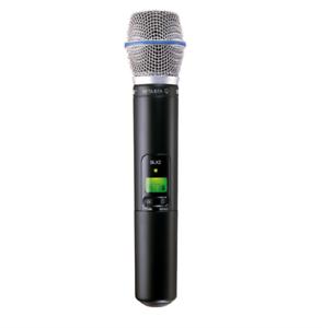 Shure SLX2 w Beta87a Handheld Wireless Microphone Mic H5 518 - 542Mhz Best Offer