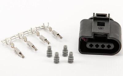 Stecker 4-polig Reparatursatz für VW 1J0973704 Skoda Seat Audi weiblich Kabel