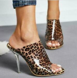 Fashion Women's PVC Transparent High