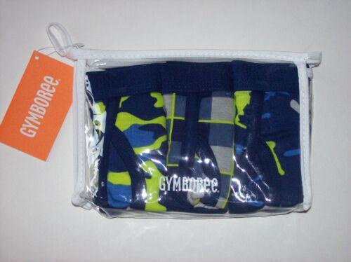 Gymboree Underwear Underpants Briefs Boys 3 Pair Cotton Assorted 2//3Toddler New