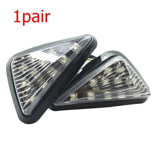 Premium Motorcycle Bike Side marker Turn Signal Indicator Lights Lamp Universal