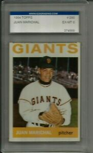 1964 Topps Juan Marichal San Francisco Giants #280 💥💥🎆 IGS Graded 6 EX/MT