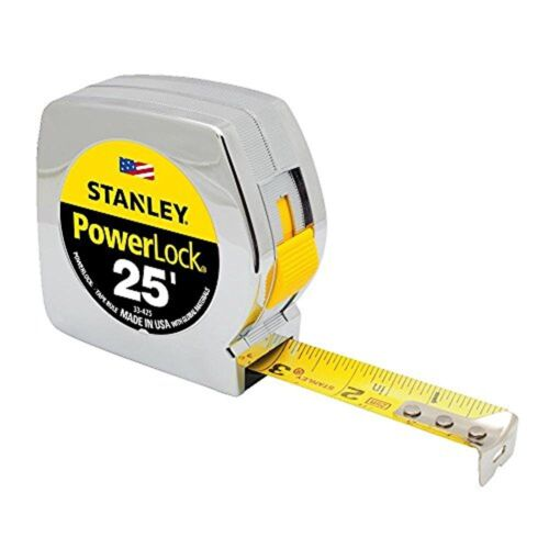 Stanley 33-425 Powerlock 25-Foot by 1-Inch Measuring Tape Original