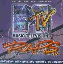 MTV Raps 3 (1997) Nana, Puff Daddy, Down Low, Grandmaster Mele-Mel/Scor.. [2 CD]