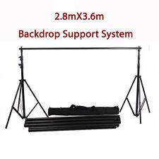 BDS03 3.6m* 2.8m Pro HeavyDuty Backdrop Support System Kit Tripod adjustable bag