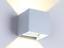 MODERNA-APPLIQUE-DA-PARETE-LAMPADA-A-LED-LUCE-RIFLESSA-LAMPADARIO-FARETTO miniatura 5