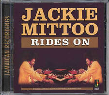 JACKIE MITTOO  RIDES ON NEW CD £9.99