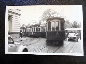 OLD-REAL-PHOTO-BLAUWE-TRAM-NZH-DEN-HAAG-OLD-CARS-AUTOBUS-ANIMATED-ADVERTISING
