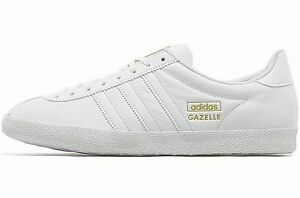 adidas gazelle white gold
