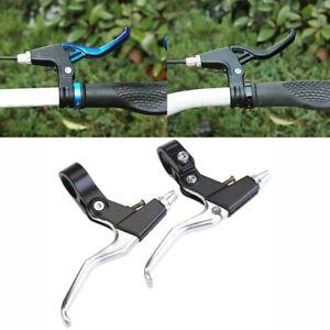 1Pair Brake Levers V-Brakes Set Handle Gear For BMX Mountain Bike MTB Bicycle US