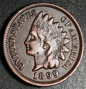 1899-INDIAN-HEAD-CENT-With-LIBERTY-amp-DIAMONDS-XF-EF