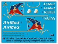 Peddinghaus 2009 1/48 Bo 105 ESTADOS UNIDOS-PUEDE Acadian Rescate