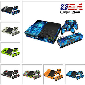 Custom-Decorate-Vinyl-Sticker-Cover-Skin-for-Xbox-One-Controller-Console-Kinect