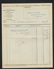 """LE NEUBOURG (27) AUTO VELO MOTOCULTEUR TSF PHONO """"Edmond HEE"""" en 1948"""