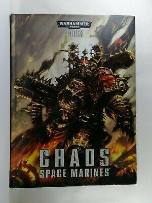 Codex: Space Marine Del Caos (rilegato) - Warhammer 40,000 Libro-games Workshop-mostra Il Titolo Originale Grandi Varietà
