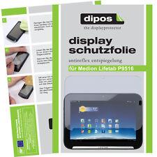 2x Medion Lifetab P9516  Schutzfolie matt Displayschutzfolie Antireflex