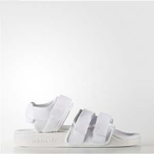 884caa3bfb22 Image is loading New-Adidas-Original-Women-ADILETTE-SANDAL-BB5096-WHITE-