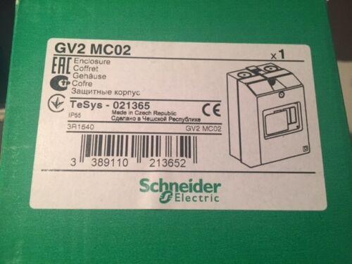 Schneider Electric GV2 MC02 Gehäuse IP55 021365 NEU OVP