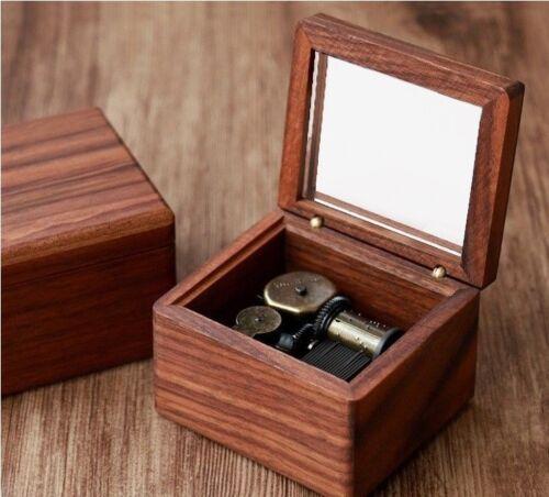 Sankyo Dark Natural Wood Music Box  ♫  Harry Potter Hedwigs Theme ♫