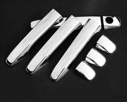 For Toyota Sienna 2011-2016 Chrome Exterior Door Handle Cover Trim Protector