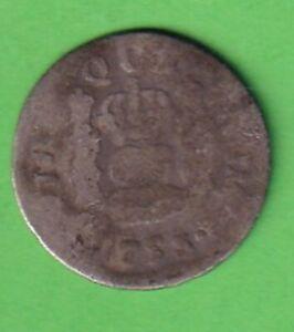 Kleinmuenze-wohl-1753-Spanien-Lateinamerika-ca-11-mm-stampsdealer