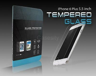 PREMIUM REAL TEMPER GLASS SCREEN PROTECTOR FOR APPLE IPHONE 6 PLUS 5.5 INCH
