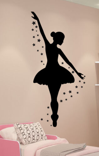 Dance Wall Decor Girls Room Decor Ballerina Wall Decal Personalized Decal