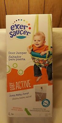 Discontinued by Manufacturer Evenflo Exersaucer 2-In-1 Doorway Jumper Bumbly