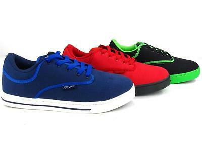 Men's Athletic Vulcanized Canvas Shoes Vintage Skateboard Sneakers Casual Lace