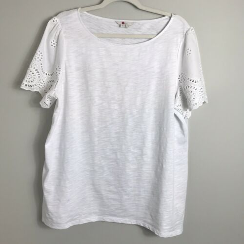 LACE UP TOP SIZE 8,10,12,14 NEW LADIES WOMENS HEIDI LONG SLEEVED EYELET