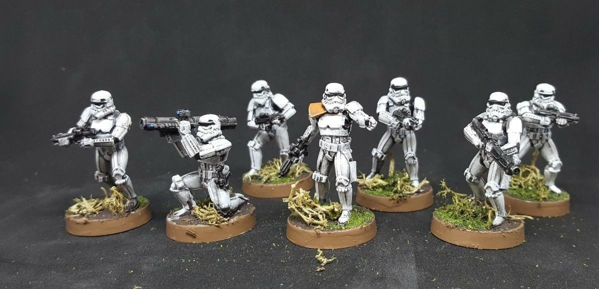 Star wars legion miniature storm troopers exspansion pro painted made to order
