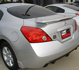 2013 Nissan Altima For Sale >> Fits: Nissan Altima Coupe 2008+ G35 Inspired Rear Spoiler Primer Finish W/LED | eBay